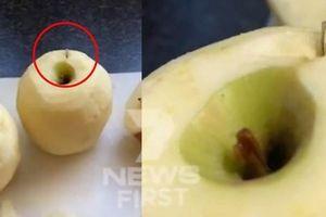 Bắt giữ những kẻ nhét kim khâu vào dâu tây, táo, xoài