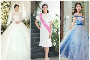 Ngọc Trinh đẹp như 'tiên giáng trần' - Hoa hậu Tiểu Vy liên tục thả 'bùa yêu' bằng trang phục màu trắng ĐẸP nhất thảm đỏ