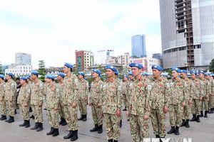 Lực lượng gìn giữ hòa bình Việt Nam sẵn sàng đến Nam Sudan