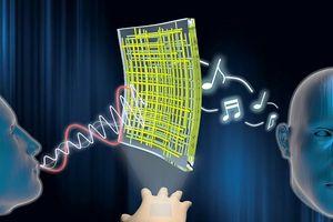 Một phát minh từ các nhà khoa học Hàn Quốc: Loa bằng sợi nano có thể dán vào da người và phát nhạc concerto