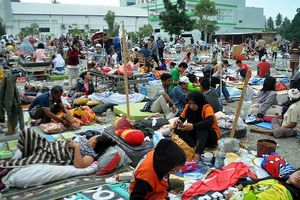 Đã có 384 người thiệt mạng, hàng trăm người bị thương sau động đất và sóng thần tại Indonesia