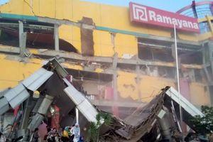Động đất, sóng thần tại Indonesia, cầu sập trong tích tắc