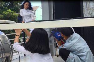 Cười ngất với hậu trường 'sống ảo' siêu lầy lội của học sinh Đà Nẵng