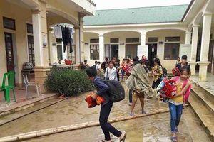 Nghệ An: Trường học vùng cao bị ngập lần 2 do mưa lớn