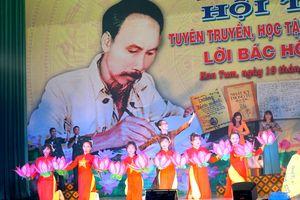 Lan tỏa Hội thi 'Tuyên truyền, học tập và làm theo lời Bác Hồ dạy' ở Sư đoàn 10