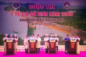 Đội thi y tế cơ sở tỉnh Nghệ An đoạt giải Nhất Cuộc thi 'Y tế cơ sở giỏi năm 2018' khu vực Bắc Trung Bộ