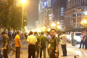 Khởi tố điều tra vụ sắt rơi trên đường Lê Văn Lương khiến 2 người thương vong