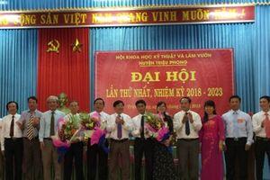 Hội KHKT và LV Triệu Phong: Chủ động chuyển giao tiến bộ KT vào SX