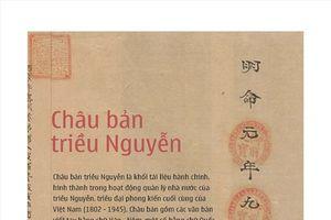 Đưa Châu bản, Mộc bản triều Nguyễn đến với bạn bè quốc tế