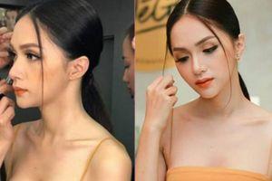 'Bỏng mắt' ngắm Hoa hậu Hương Giang xinh đẹp, mặc gợi cảm đi sự kiện