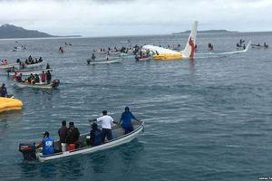 4 người Việt Nam trên máy bay rơi xuống biển tại Micronesia