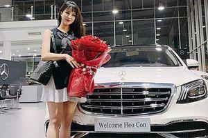 Diệp Lâm Anh tậu Mercedes-Maybach S450 hơn 7 tỷ đồng