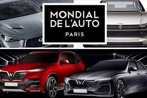 Loạt 'xế hộp' đọ sức cùng xe Vinfast tại Paris Auto Show 2018