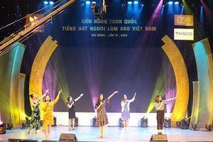 Khai mạc Liên hoan toàn quốc Tiếng hát người làm báo Việt Nam mở rộng lần thứ VI năm 2018