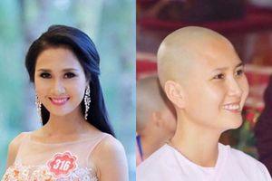 'Người có mái tóc đẹp nhất' Hoa hậu Việt Nam 2014 xuất gia ở tuổi 24