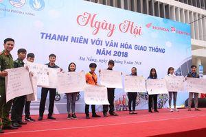 Hơn 600 ĐVTN tham gia Ngày hội Văn hóa giao thông