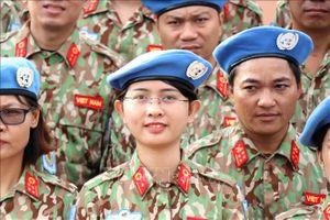 Bộ Quốc phòng lập 2 đơn vị sẵn sàng tham gia gìn giữ hòa bình Liên hợp quốc