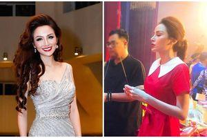 Hoa hậu Diễm Hương vẫn bình tĩnh trước nghi án dao kéo với gương mặt khác lạ