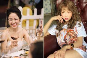 Sau bạn gái Quang Hải, hot girl Trâm Anh mất điểm với người hâm mộ vì quảng cáo dạo trên mọi mặt trận