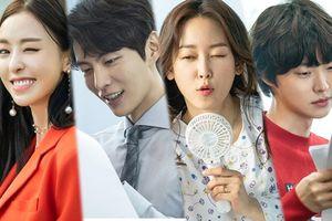 Ảnh hậu trường đáng yêu của Lee Min Ki, Seo Hyun Jin, Ahn Jae Hyun và Lee Da Hee trong 'The Beauty Inside'