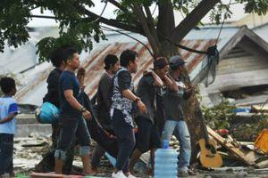 Động đất, sóng thần ở Indonesia: Số người chết tăng lên 832 người