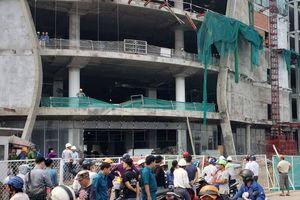 Rơi từ tầng cao công trình Khang Gia Land xuống đất, 3 công nhân nguy kịch