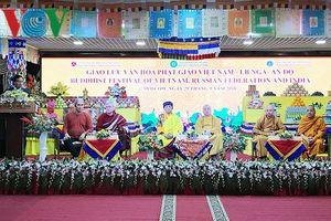 Giao lưu văn hóa Phật giáo Việt Nam - Nga và Ấn Độ