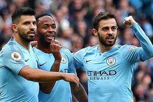 Thắng nhẹ Brighton, Man City lên đỉnh Premier League