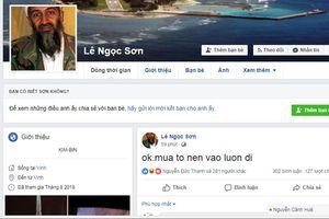 Nghệ An: Nghi phạm bị vây bắt đăng facebook thách thức công an