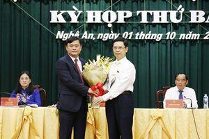 Ủy viên dự khuyết TƯ Thái Thanh Quý làm tân Chủ tịch Nghệ An