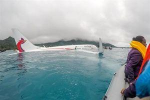 Có 4 công dân Việt Nam trên phi cơ bị lao xuống đầm nước