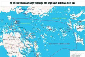 Cấm khai thác thủy sản trong vùng Di sản vịnh Hạ Long