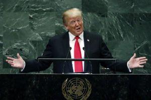 Tổng thống Donald Trump ở LHQ