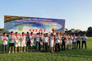 Cty CP sản xuất hàng thể thao giành quán quân giải bóng đá các KCN tỉnh Thái Bình