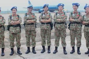 Quân y Việt Nam lên đường tham gia gìn giữ hòa bình tại Nam Sudan