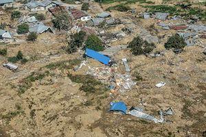 Toàn cảnh thảm họa động đất-sóng thần tại Indonesia nhìn từ trên cao