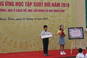 Quận Hoàn Kiếm (Hà Nội) phát động tuần lễ hưởng ứng học tập suốt đời 2018