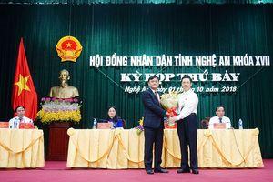 Nghệ An bầu tân chủ tịch UBND tỉnh