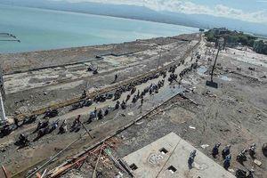 Hơn 1.000 tù nhân trốn thoát trong động đất và sóng thần ở Indonesia