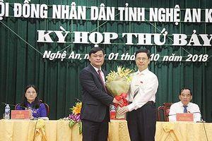 Nghệ An có tân Chủ tịch UBND tỉnh