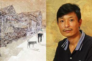 Lạ thường nỗi mê đắm của họa sĩ Vũ Thái Bình với giấy dó
