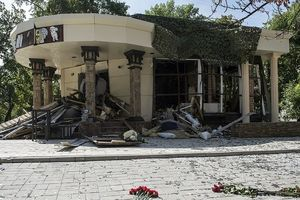 Khoảnh khắc lãnh đạo ly khai Donetsk bị ám sát trong quán cafe
