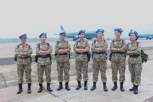 BẢN TIN THANH NIÊN: Sĩ quan Việt Nam xuất quân làm nhiệm vụ quốc tế