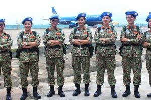 Lực lượng gìn giữ hòa bình Việt Nam xuất quân lên đường sang Nam Sudan