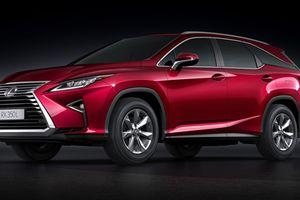 Lexus RX mới chính thức xuất hiện tại Việt Nam