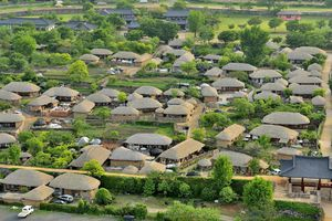 Thu đến thăm Naganeupseong - ngôi làng toàn nhà tranh ở phía nam Hàn Quốc