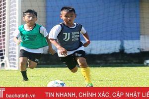 3 cầu thủ nhí Hà Tĩnh trúng tuyển Học viện bóng đá Juventus Việt Nam