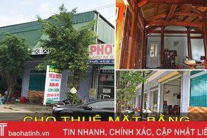 Cho thuê nhà nguyên căn kinh doanh 2 tầng ở TT Hương Khê