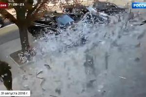 Khoảnh khắc bom xé nát quán cà phê, giết chết thủ lĩnh Donbass cùng cận vệ