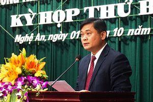 Ông Thái Thanh Quý được bầu làm Chủ tịch UBND tỉnh Nghệ An ở tuổi 42